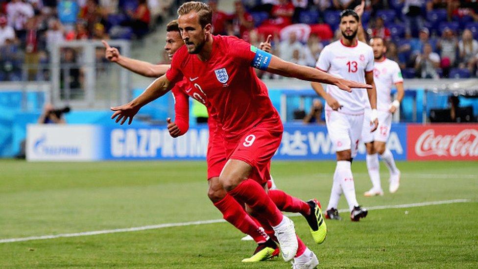 Mondial Russie 2018 : Angleterre - Tunisie (2-1)