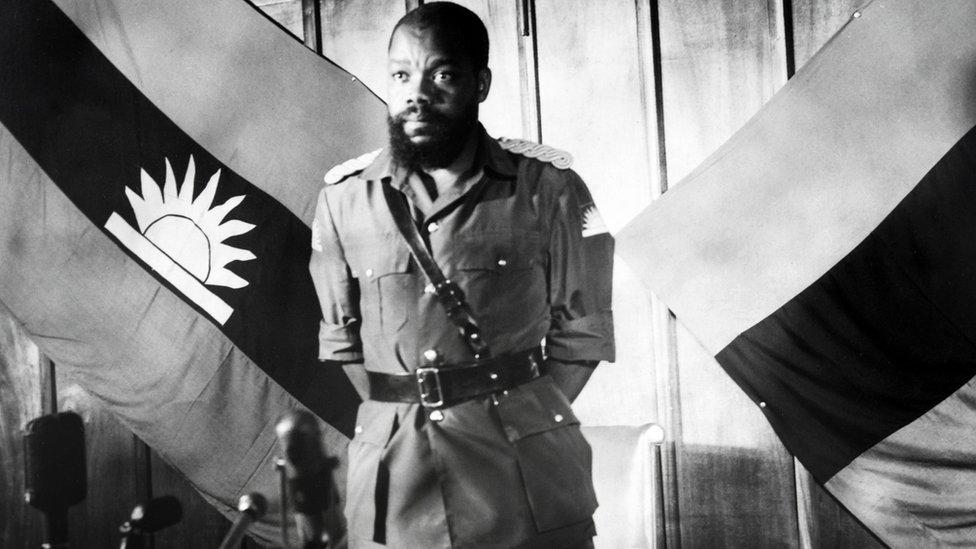 Nigerian secessionist Colonel Odumegwu Emeka Ojukwu