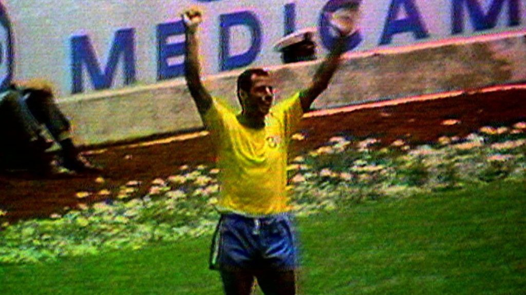 Carlos Alberto scores iconic World Cup final goal for Brazil at Mexico 1970