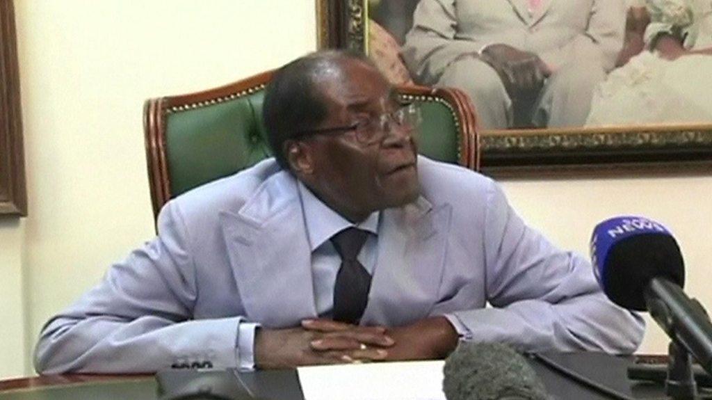 Zimbabwe's ousted Robert Mugabe: 'We must undo this disgrace'