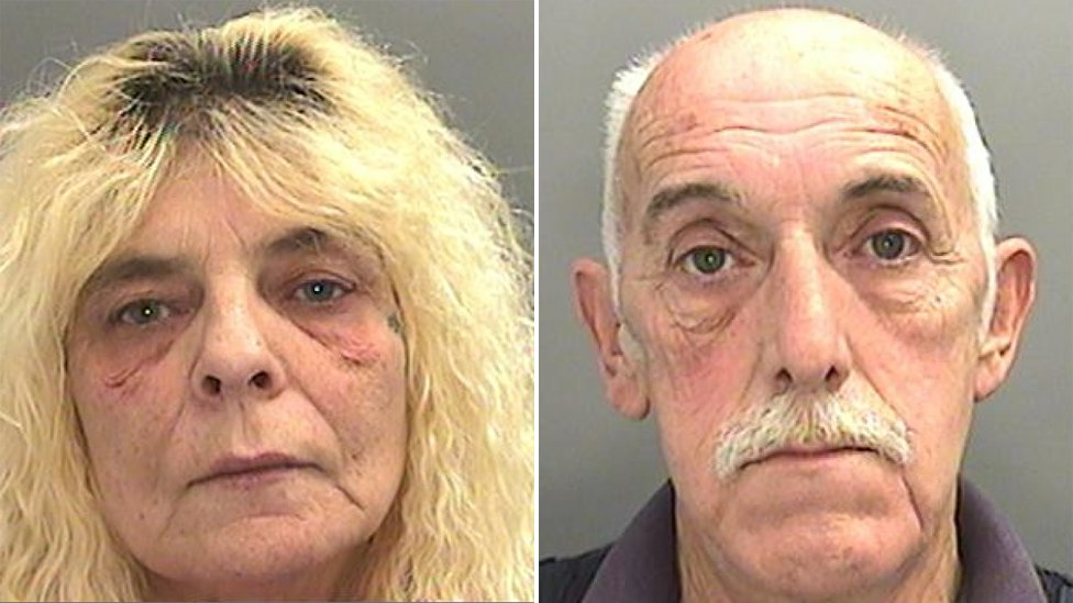 'Fred and Rose West' couple jailed for rapes