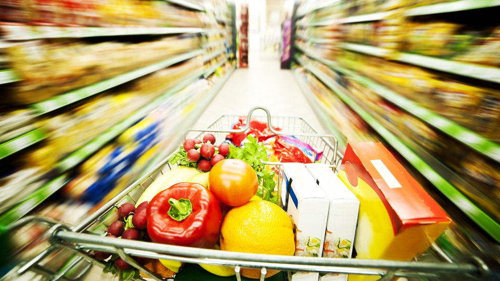 UK retail sales up but food spending falls