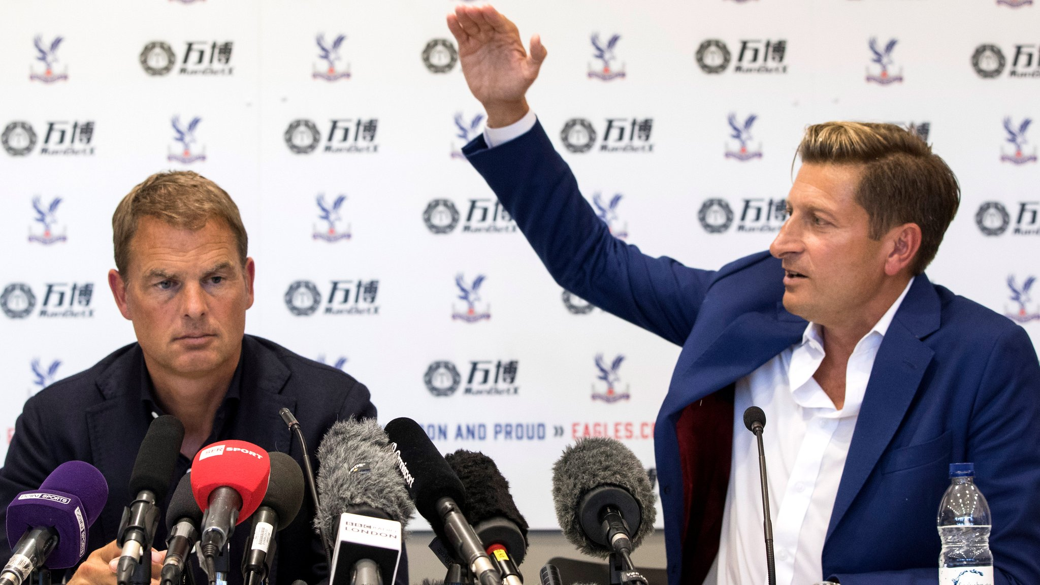 Steve Parish: Crystal Palace chairman says club 'bought' their way out of trouble