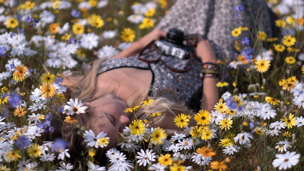 Spectacular super bloom transforms South African desert