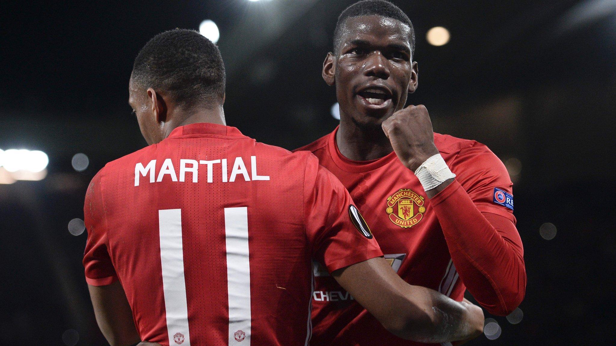 Pogba stars as Man Utd thrash Fenerbahce