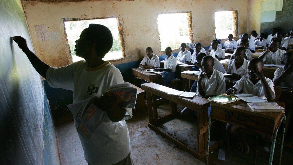 Las escuelas y viviendas en África Subsahariana son particularmente vulnerables.