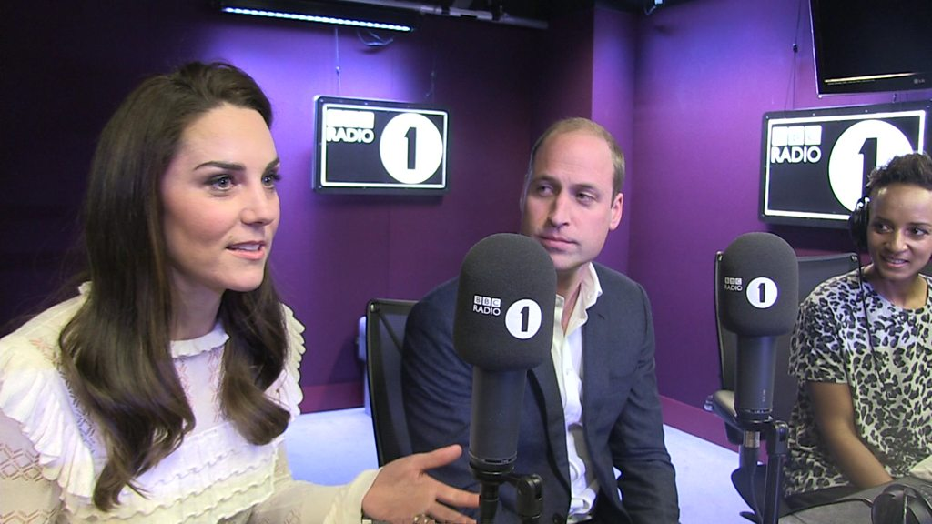 Prince William: 'I text Radio 1 for shoutouts'