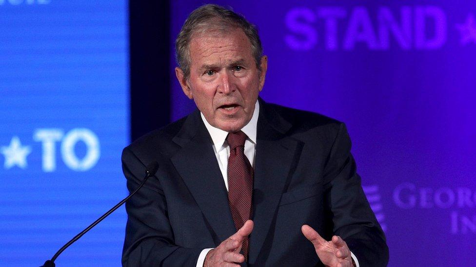 El expresidente de EEUU, George W.Bush.