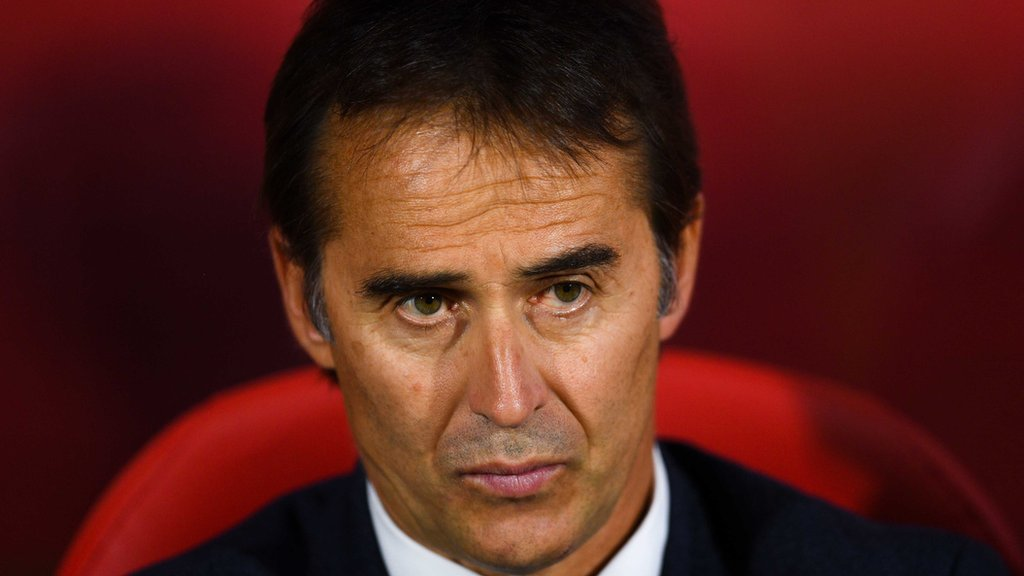 Real Madrid coach Lopetegu criticises plan for La Liga game in US
