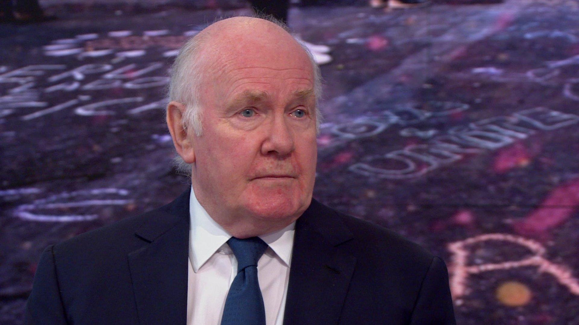 Lord Reid speaks to Victoria Derbyshire