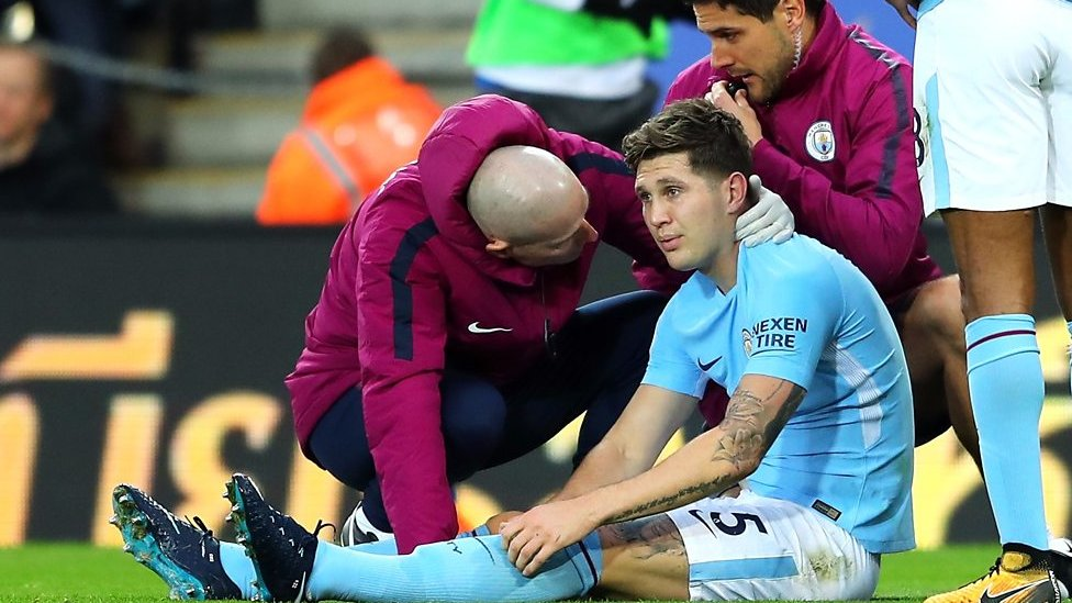 Leicester 0-2 Man City: John Stones will be out for six weeks - Pep Guardiola