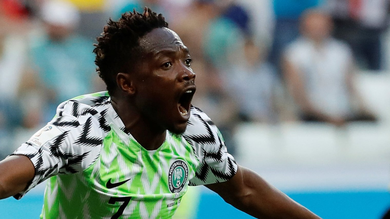 World Cup 2018: Ahmed Musa exquisite touch and finish puts Nigeria ahead