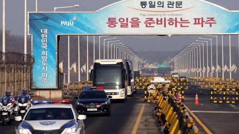 Korea selatan, korea utara