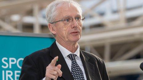 Irish Football crisis: Delaney 'not part of the FAI anymore' says Treacy