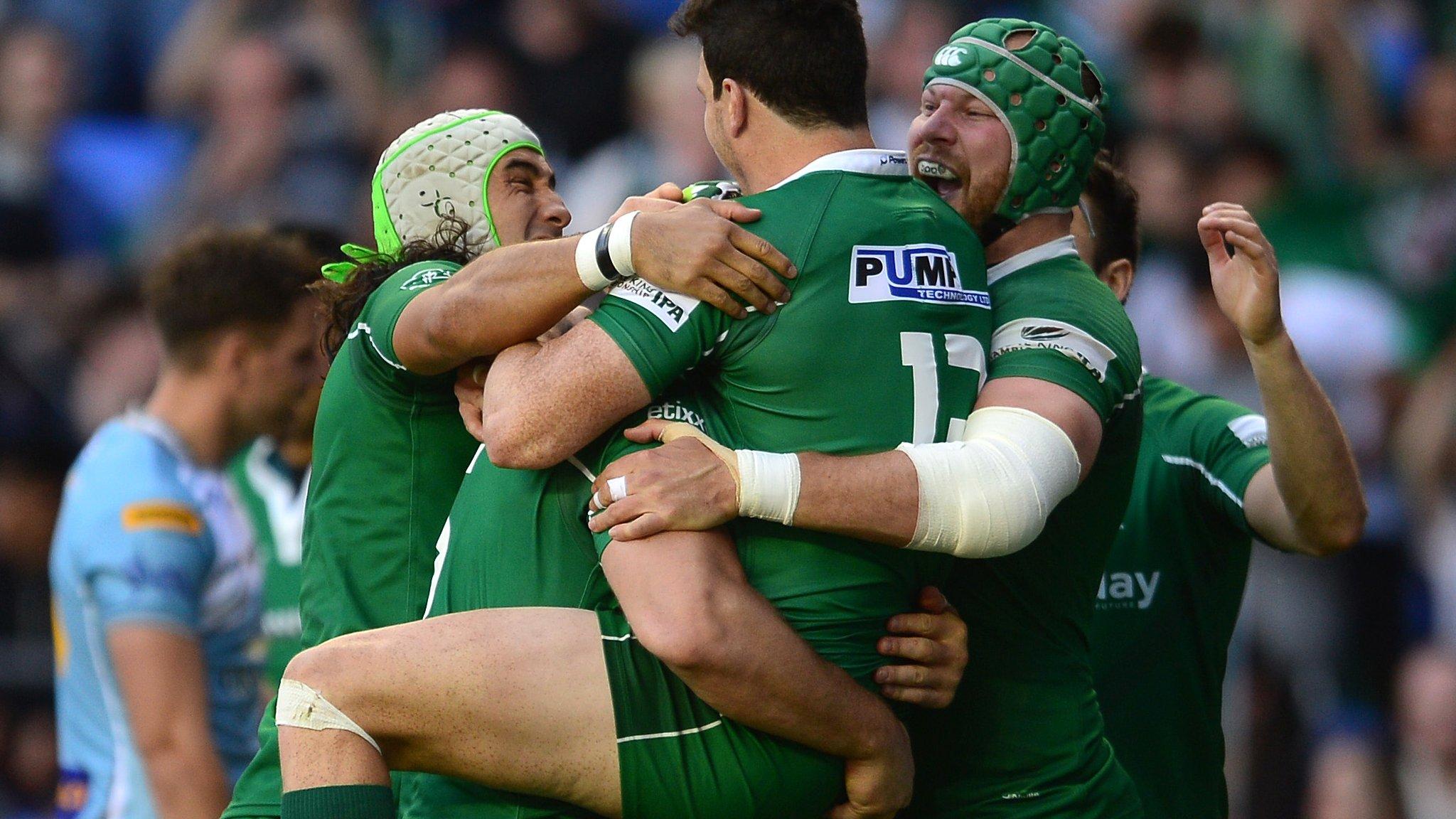 London Irish beat Carnegie to win promotion