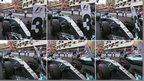 Hamilton's Monaco position panel