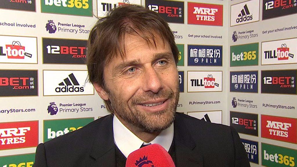 West Brom 0-4 Chelsea: Antonio Conte hails Morata-Hazard partnership