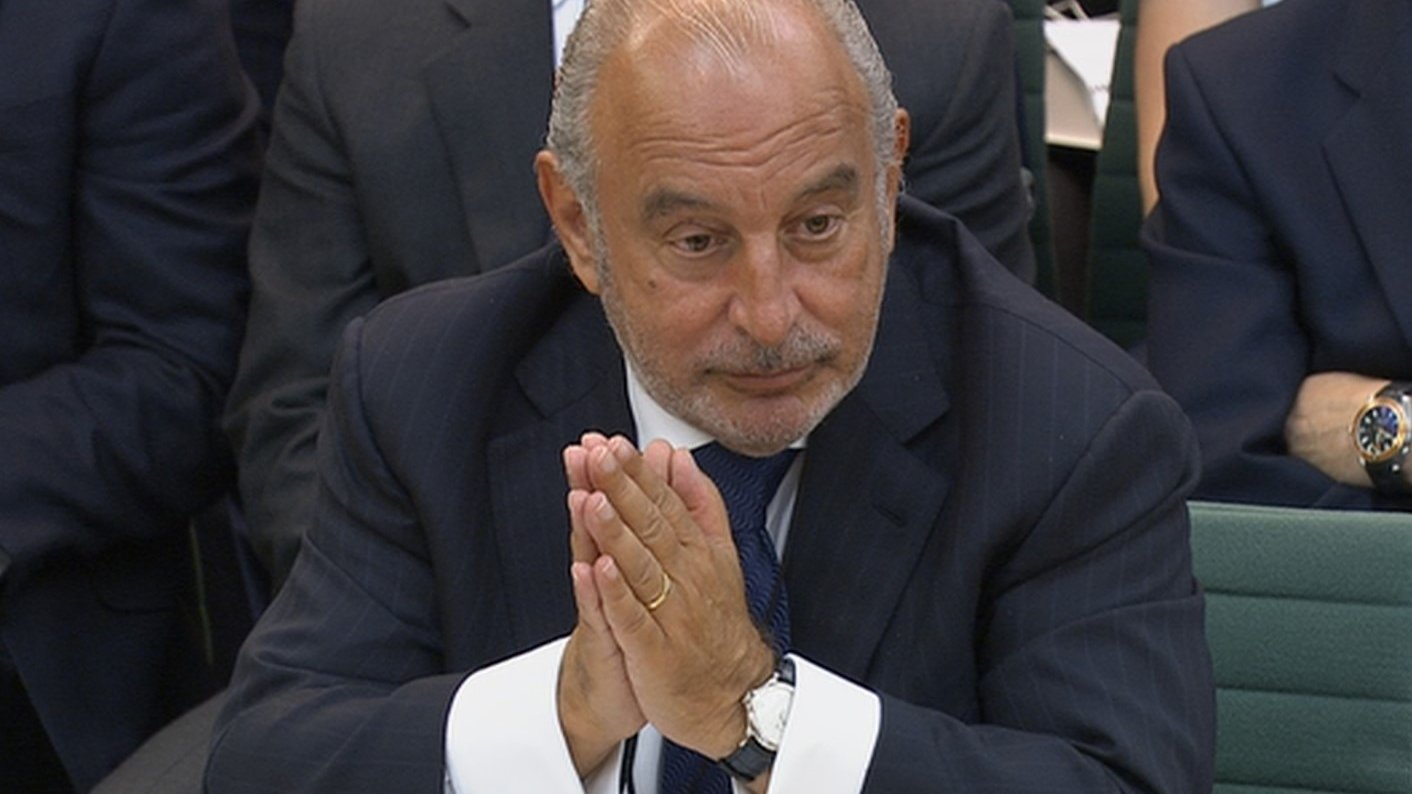 Sir Philip Green knighthood 'under review'