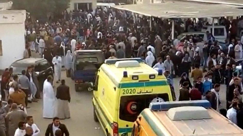 Egypt attack: Gunmen kill 235 in Sinai mosque