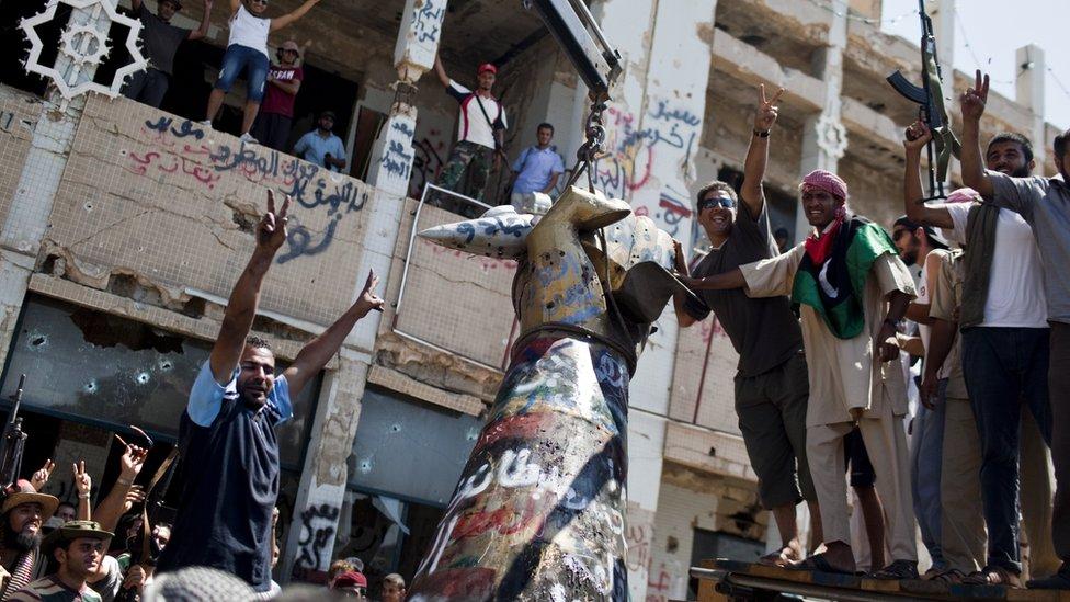 Libyan court sentences 45 to death over 2011 killings