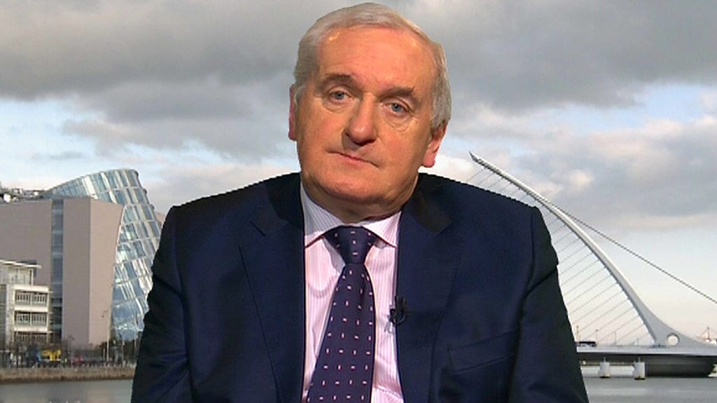 Bertie Ahern: Compromise better than a no-deal Brexit