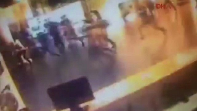Istanbul attack: CCTV footage inside the airport