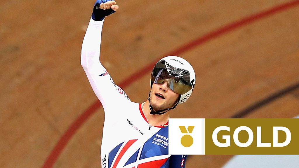 Track Cycling World Cup: Matt Walls seals omnium gold