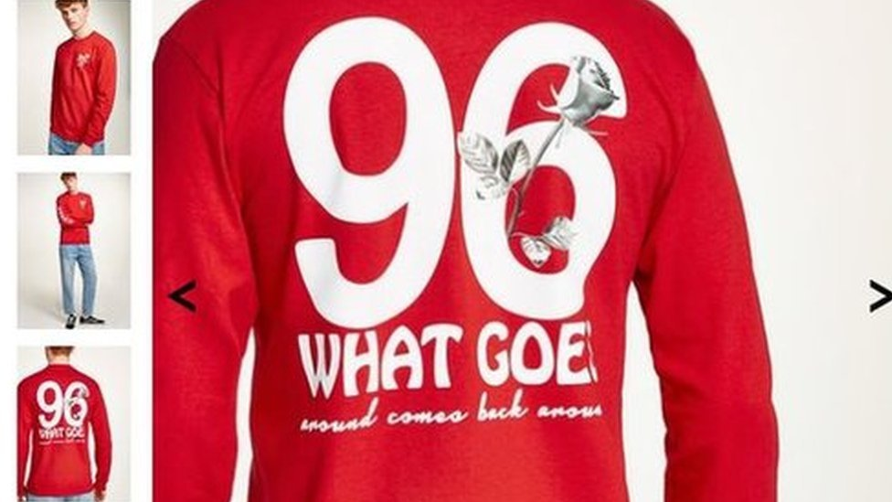 Topman '96' shirt sparks Hillsborough anger