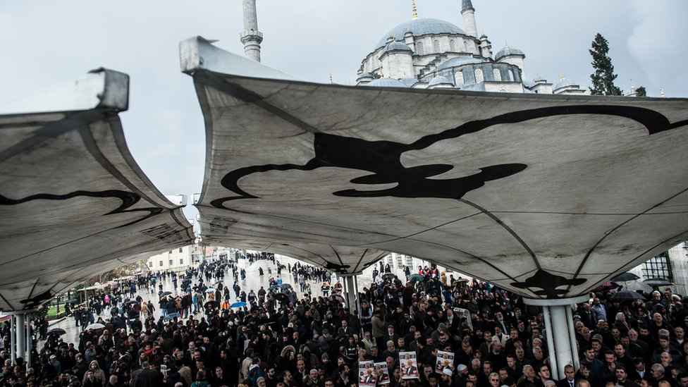 Jamal Khashoggi: Symbolic funeral services for murdered journalist