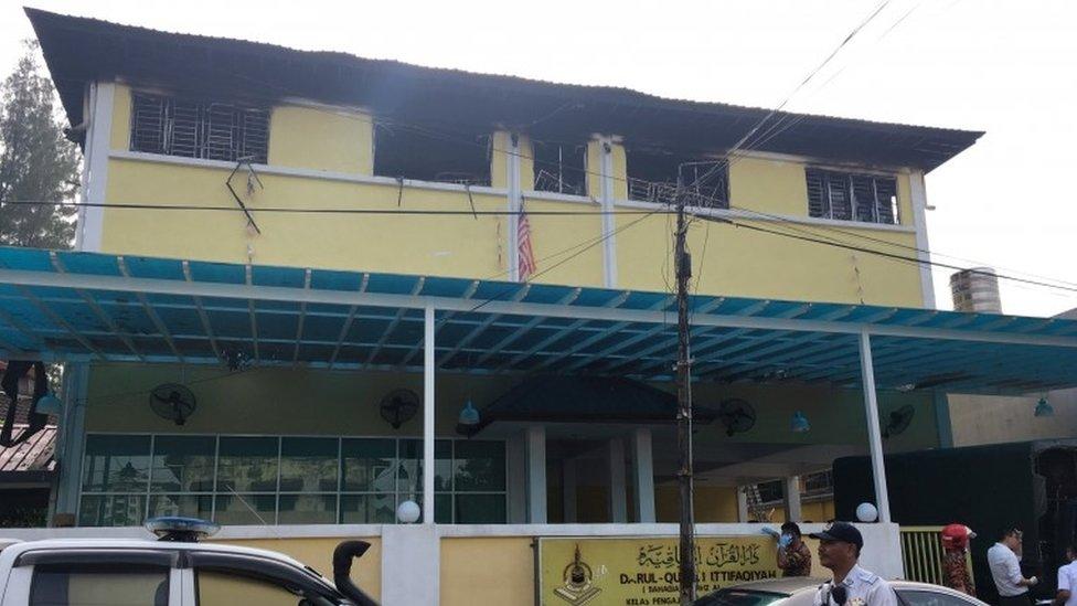 Kebakaran Di Madrasah Kuala Lumpur Setidaknya 24 Orang Tewas Bbc News Indonesia