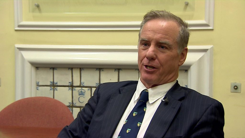 Ex-candidate Howard Dean on US presidential elections