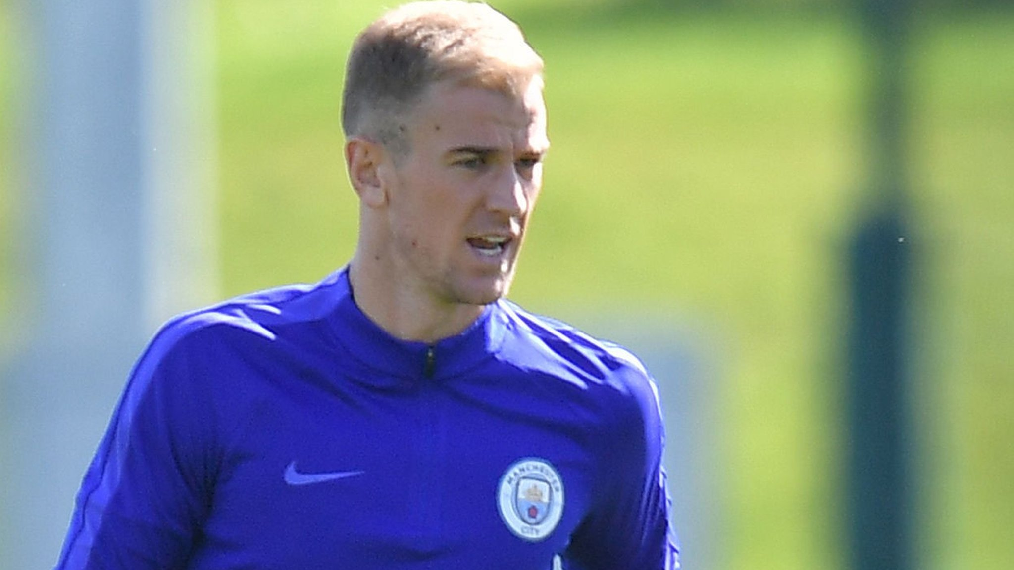 Man City's Hart to play first game of season