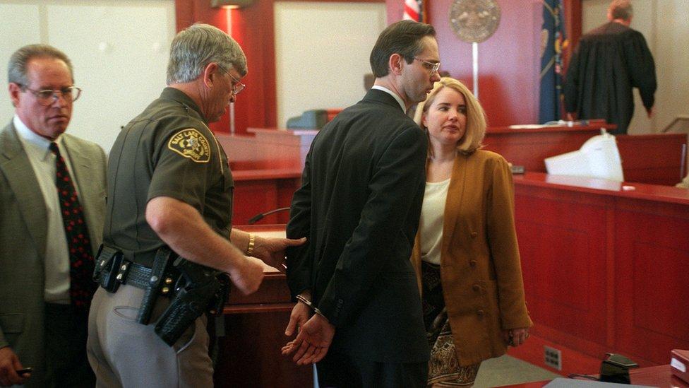 David Ortell Kingston en su juicio por incesto en 1998