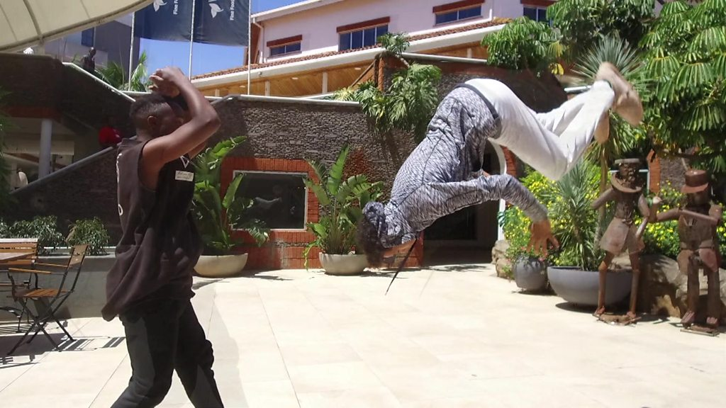 Nairobi parkour runner on why it should be in the Olympics