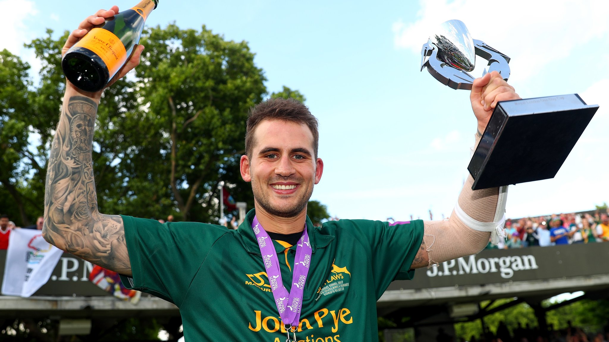 Alex Hales: England ODI opener to play only white-ball cricket for Nottinghamshire