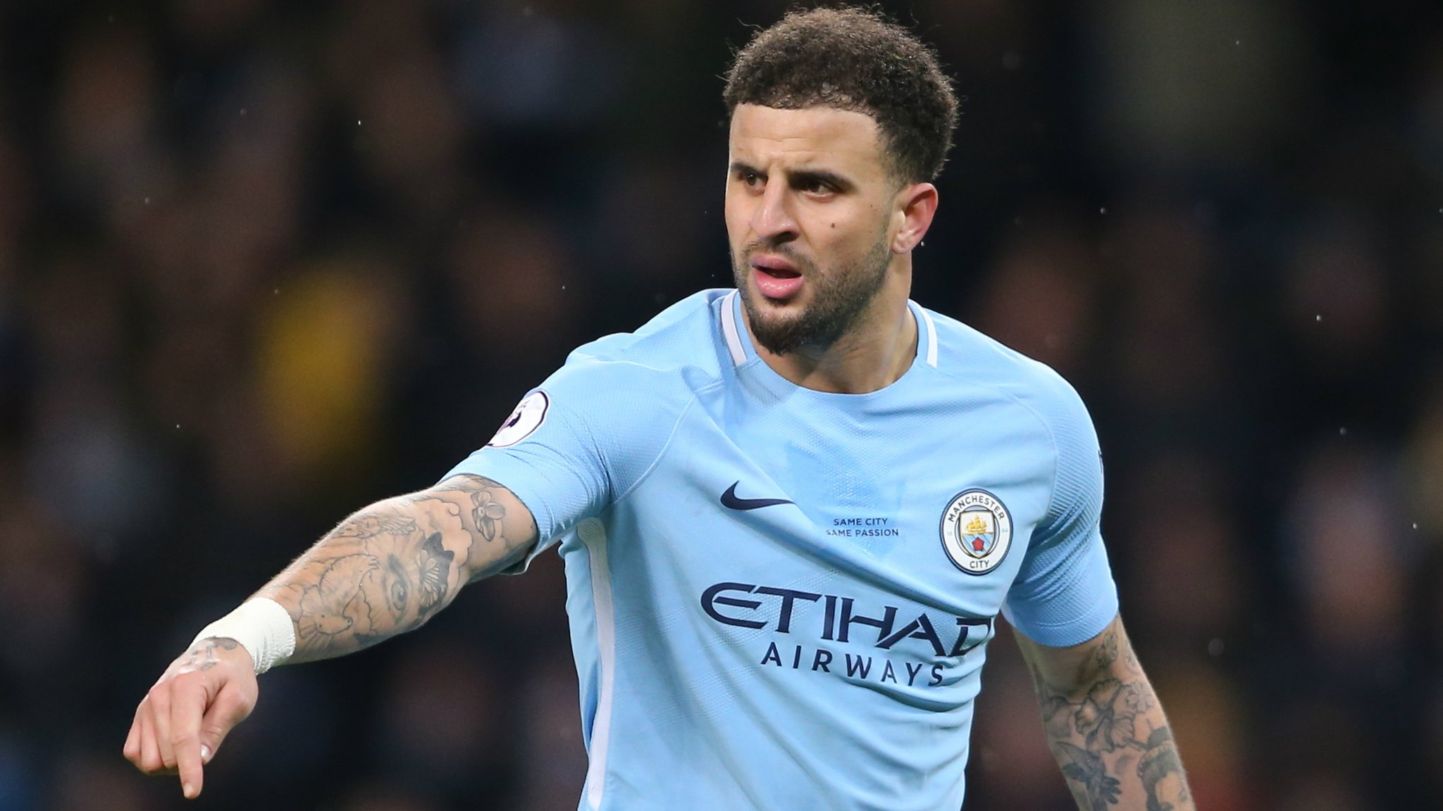 Walker is ready to play at Shakhtar, says Guardiola