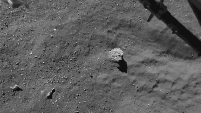 view from the ROLIS camera