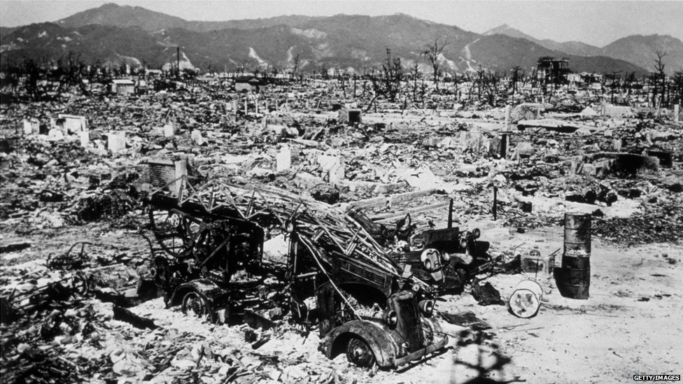 the bombing of hiroshima to end Document-based question the atomic bombing of  a feeling of vindication and a desire to end the war  the atomic bombing of hiroshima actually killed.