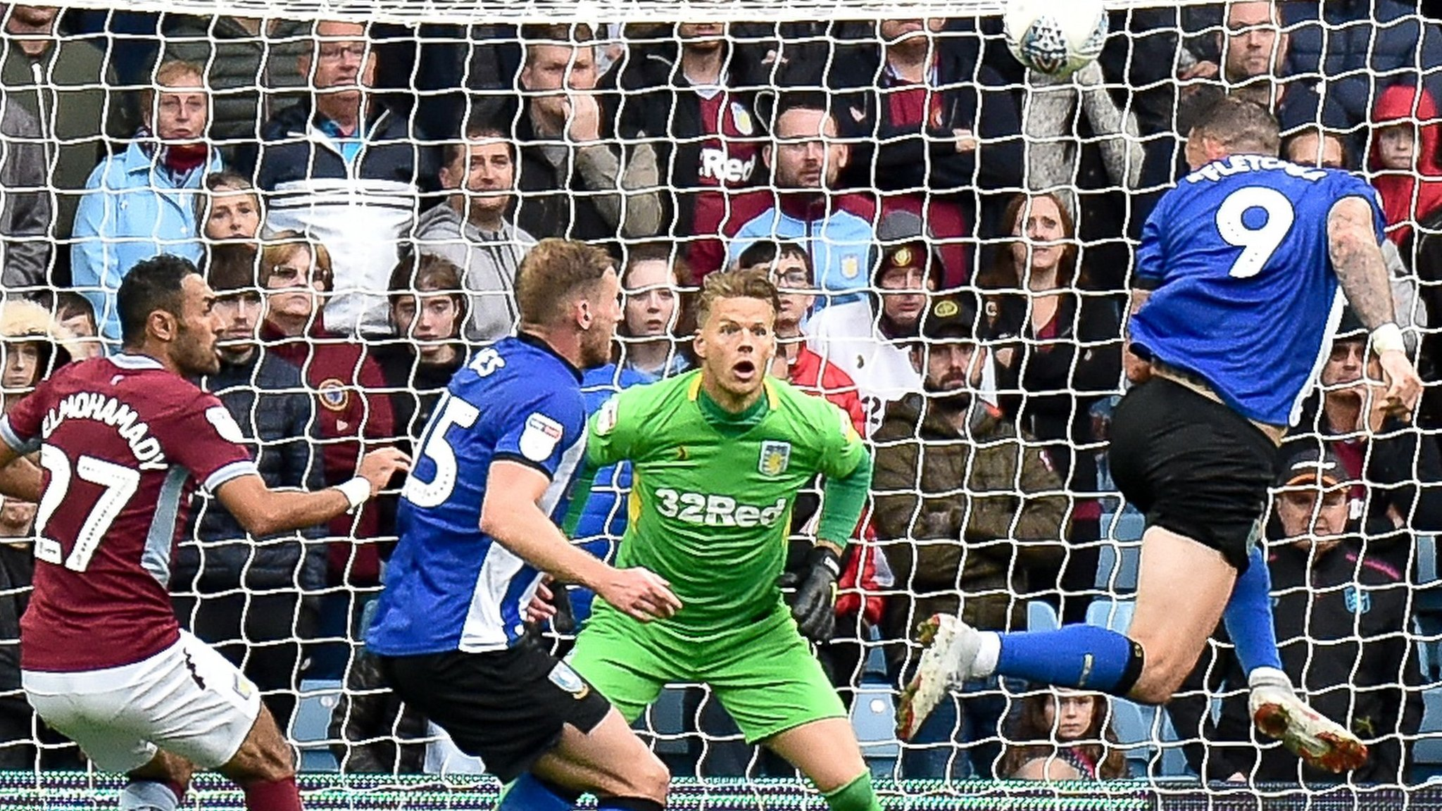 'I'm never going to walk away' - Bruce defiant after Villa lose to Sheff Wed