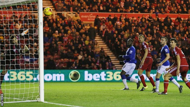 Video: Middlesbrough vs Everton