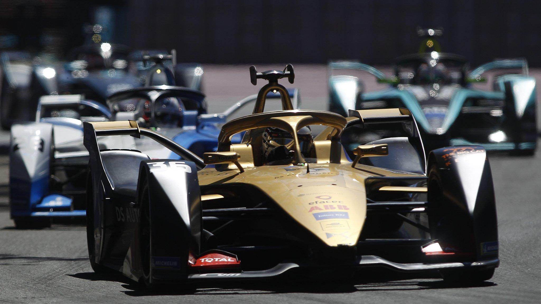 Formula E: BBC TV coverage, race calendar & results