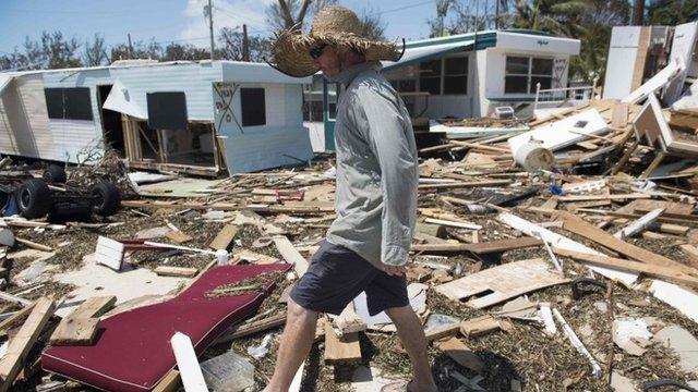 Los huracanes son cada vez más poderosos.