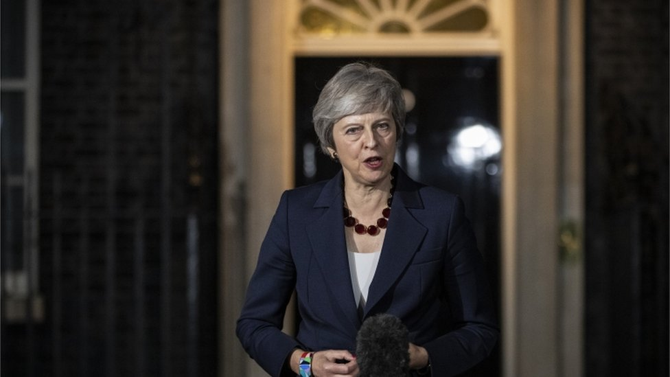 Brexit: May giving up on better deal, says DUP's Foster