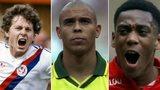 Clive Allen, Ronaldo, Anthony Martial