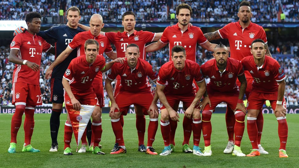 Once titular del Bayern.