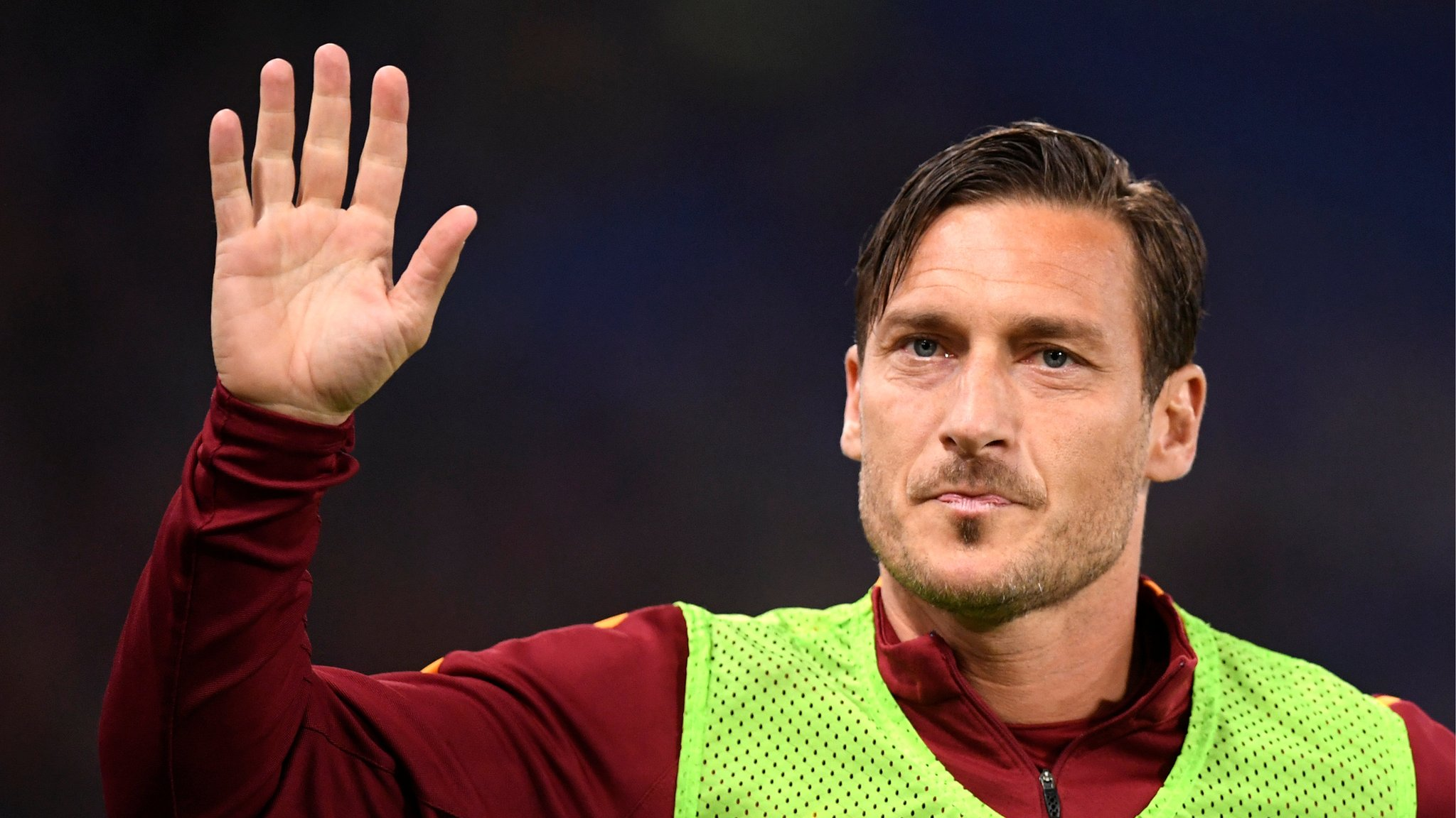 Totti to play a 'large portion' of final match against Genoa