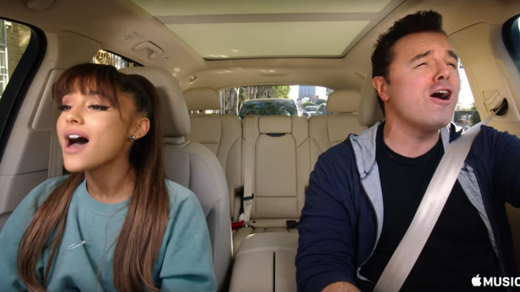 BBC News - Carpool Karaoke: What we learned from the first trailer