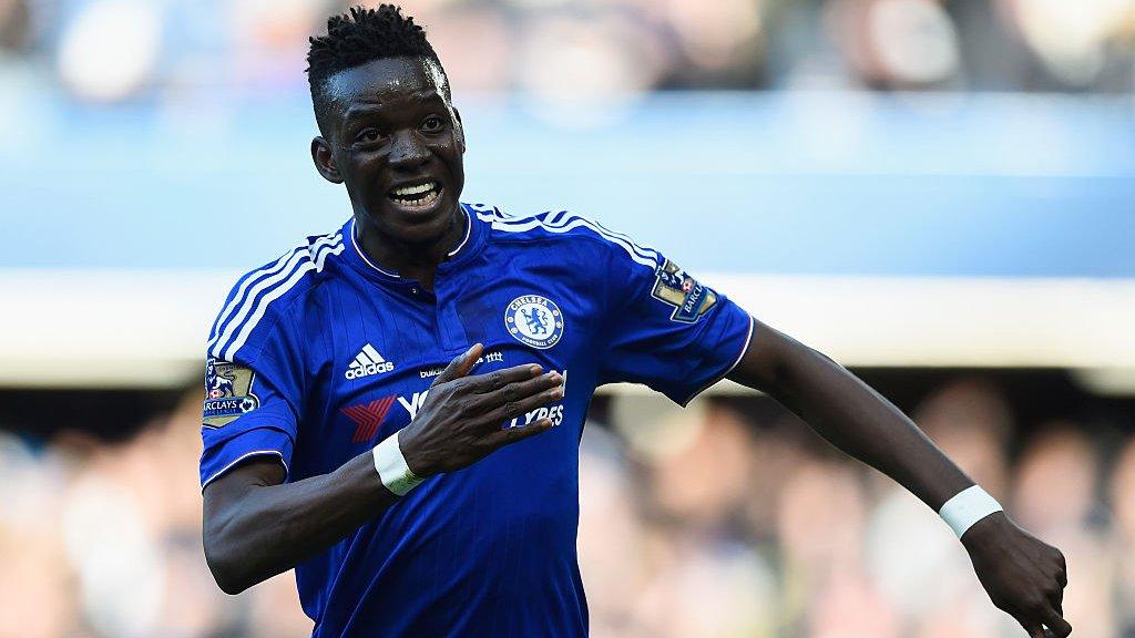 Lyon sign Chelsea striker Traore for £8.8m