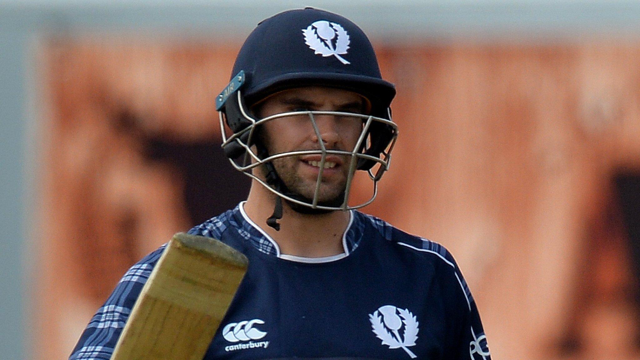 T20 Quadrangular Series: Coetzer's 74 helps Scotland beat Ireland by six wickets