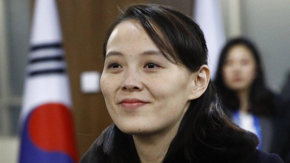 Kim Yo-jong, hermana del líder norcoreano Kim Jong-un.